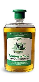 Шампунь-кондиционер Зеленый чай с бергамотом